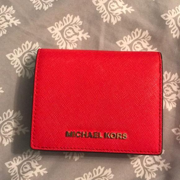 56e6b7f1510450 Michael Kors Dark Sangria Wallet. M_5a5817678290af31e689fd0c